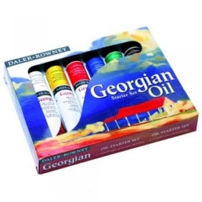 Georgian Oil Colour Starter Set