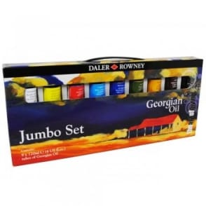 Georgian Oil Jumbo Set