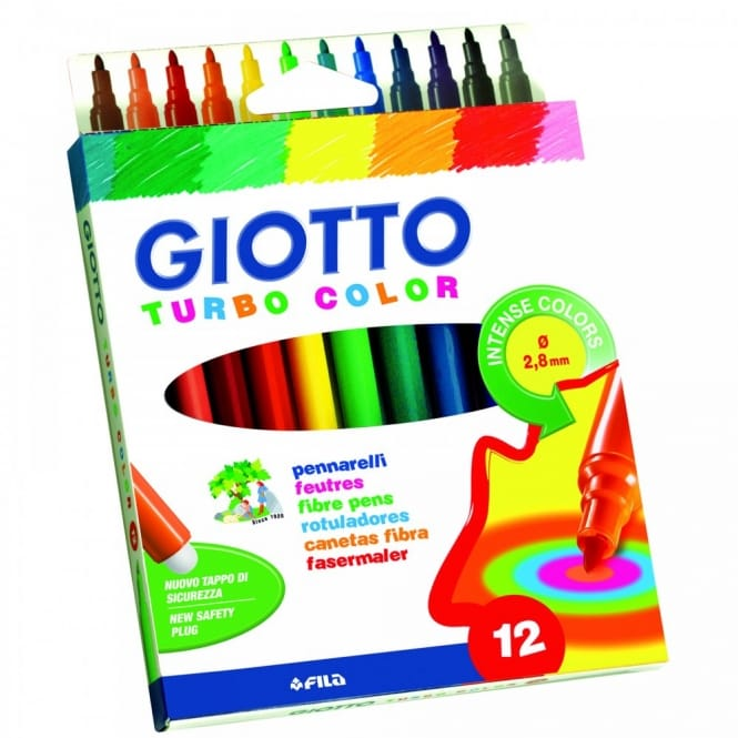 Giotto Turbo Color 12 Pack