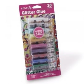 Glitter Glue Pack 10 Colours