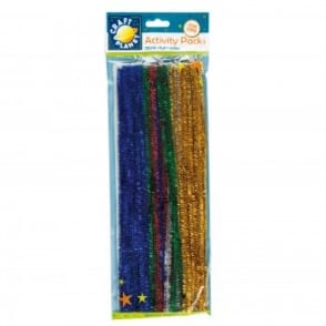 Glitter Stems 300mm Glitter Colours