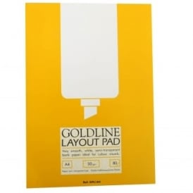 Goldline Layout Pad 50gsm A4