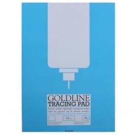 Goldline Tracing Pad 63gsm A4