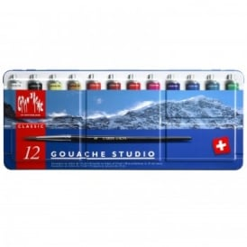 Gouache Studio Paint Tubes (12 x 10ml)
