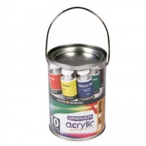 Graduate Acrylic Paint Pot Set
