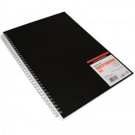 Graduate Sketch Book - Spiral A4 (Black Cover)