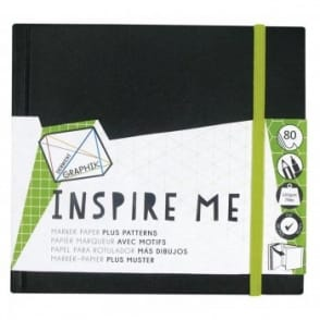 Graphik Inspire Me Book - 14cm Square