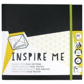 Graphik Inspire Me Book - 20cm Square