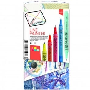 Graphik Line Painter -Set of 5 Pens 01