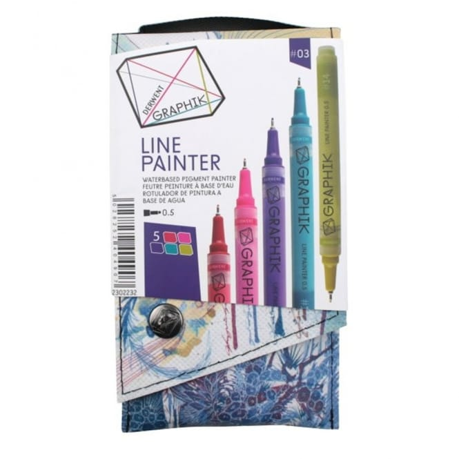 Graphik Line Painter -Set of 5 Pens 03