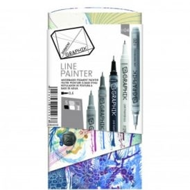 Graphik Line Painter -Set of 5 Pens 04