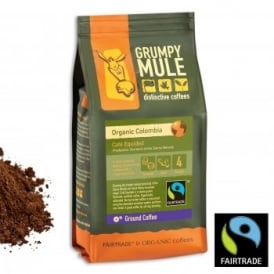 Ground Coffee - Box 3 of 227g Packets - Organic Colombia Cafe Equidad