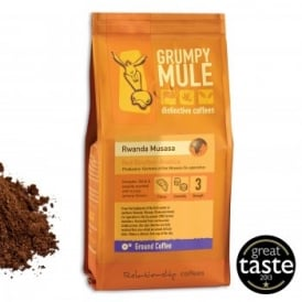 Ground Coffee - Box of 3 227g Packets - Rwanda Musasa Red Bourbon Arabica