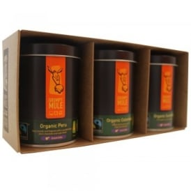 Ground Coffee Mini Tin Gift Set (3 x 75g)*