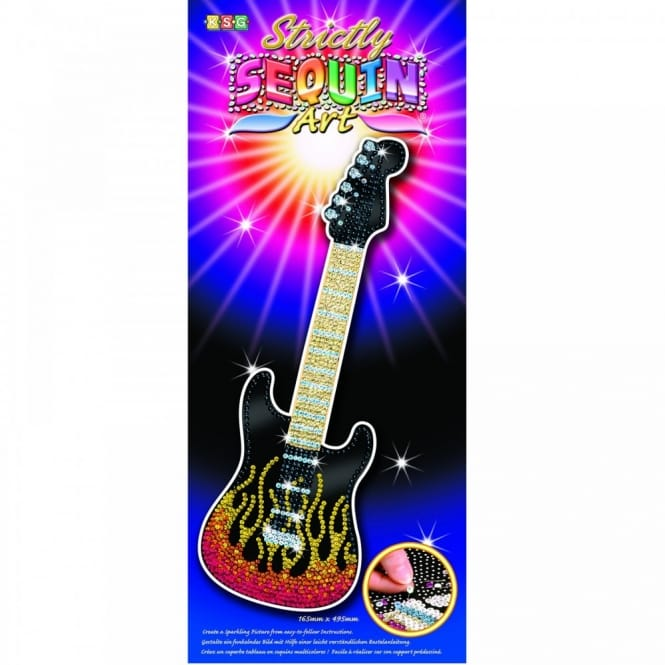 Guitar Strictly Sequin Art