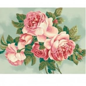 Heirloom Roses Paint by Numbers