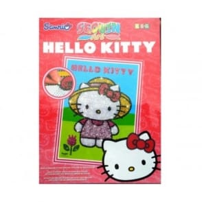 Hello Kitty Garden - KSG Sequin Art*
