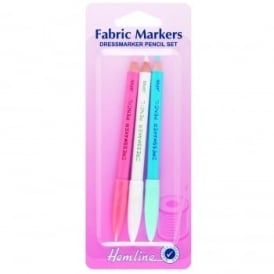 Henline: Fabric Markers Dress Makers Pencil Set of 3