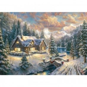 High Country Christmas 1000 Piece Puzzle