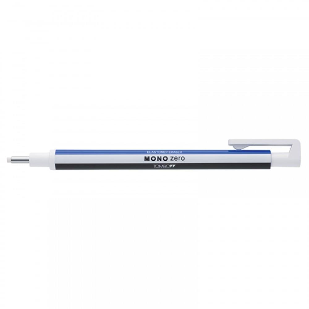 High precision round mono eraser with refill