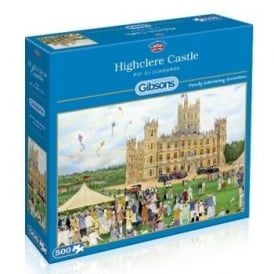 Highclere Castle Jigsaw Puzzle 500 Pieces