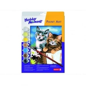 Hobby Moment Paint Art - Kittens Paint by Number
