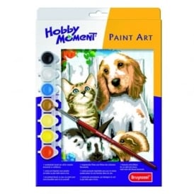 Hobby Moment Paint Art - Pets Paint by Number