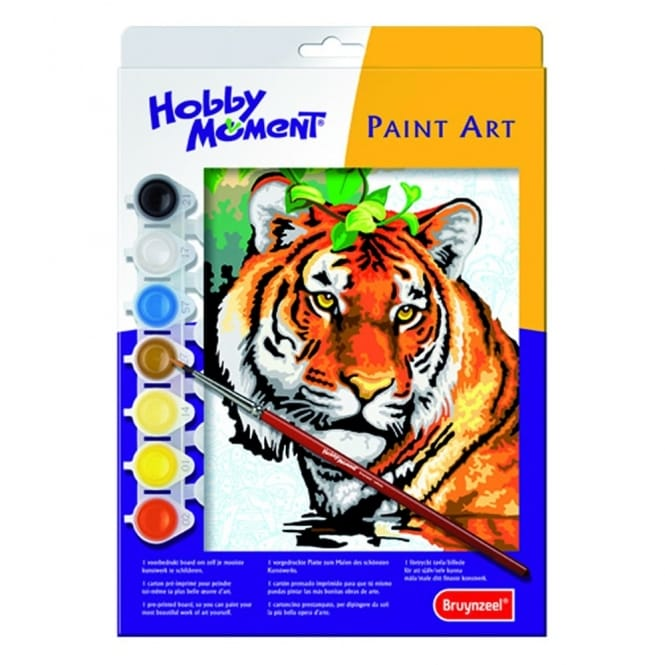 Hobby Moment Paint Art - Tiger Paint by Number