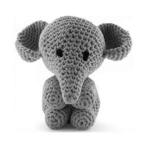 Hoooked Elephant Mo Grey Crochet Kit