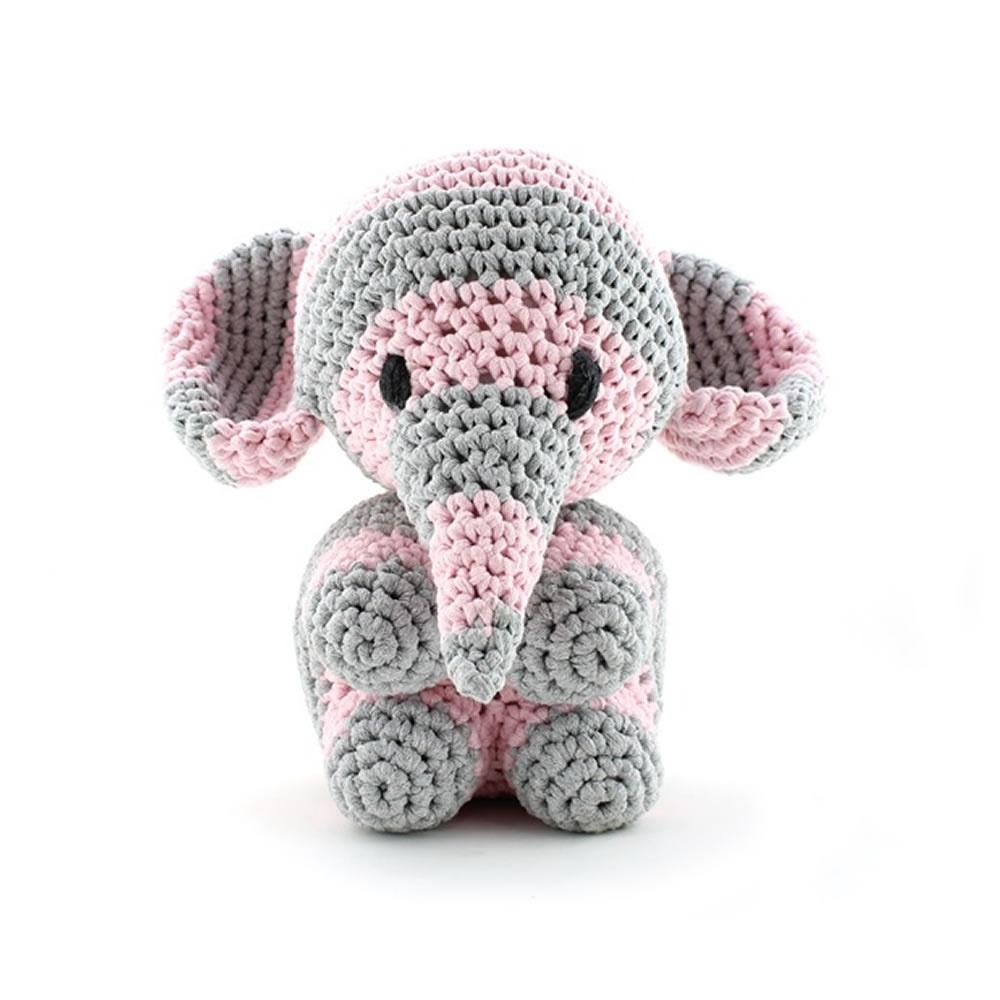 Hoooked Maxigurumi Elephant Mo Crochet Kit - Hoooked Zpagetti from ...