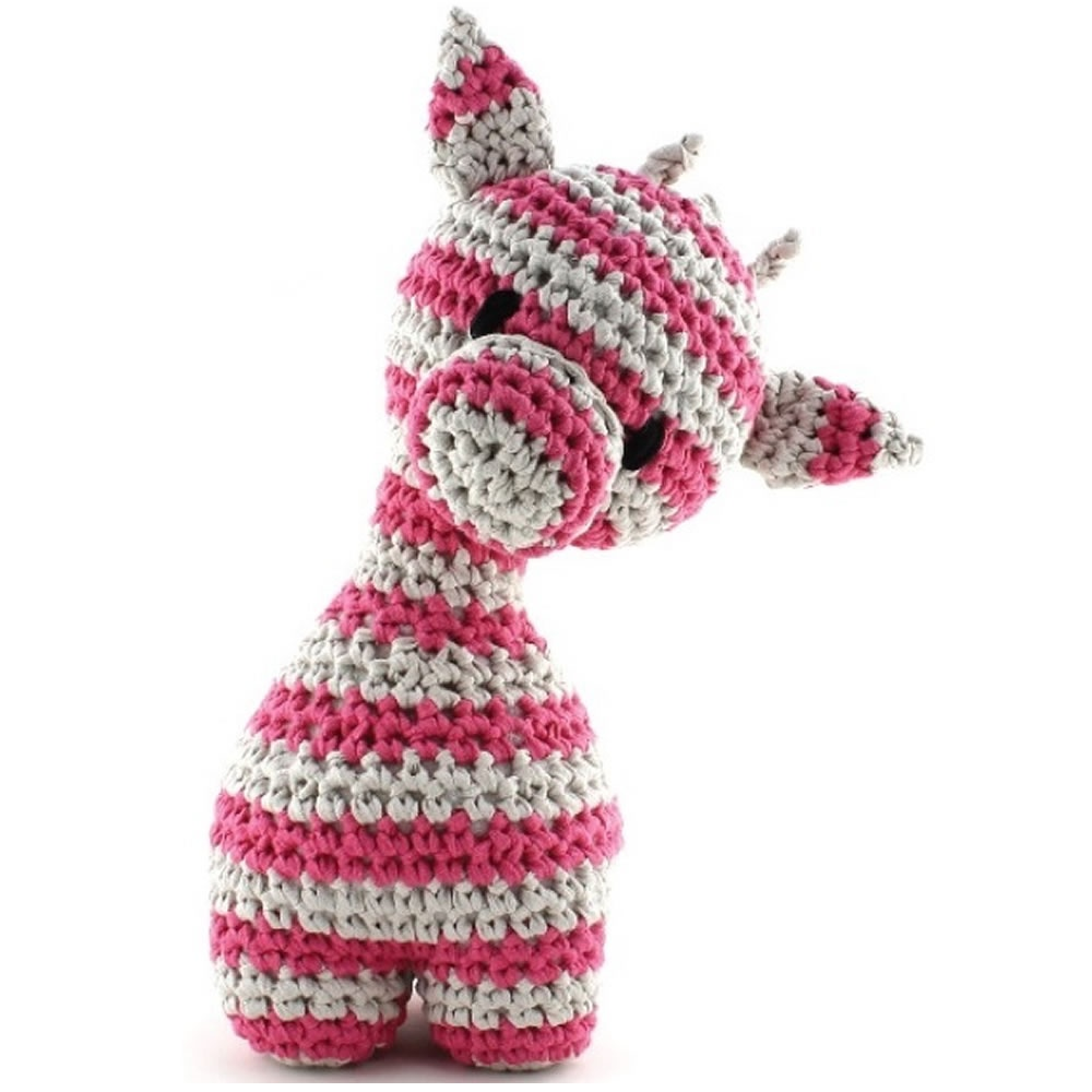 ... ? Felts & Yarn Kits ? Hoooked Maxigurumi Giraffe Crochet Kit