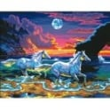 Horse Surf Large Painting By Numbers