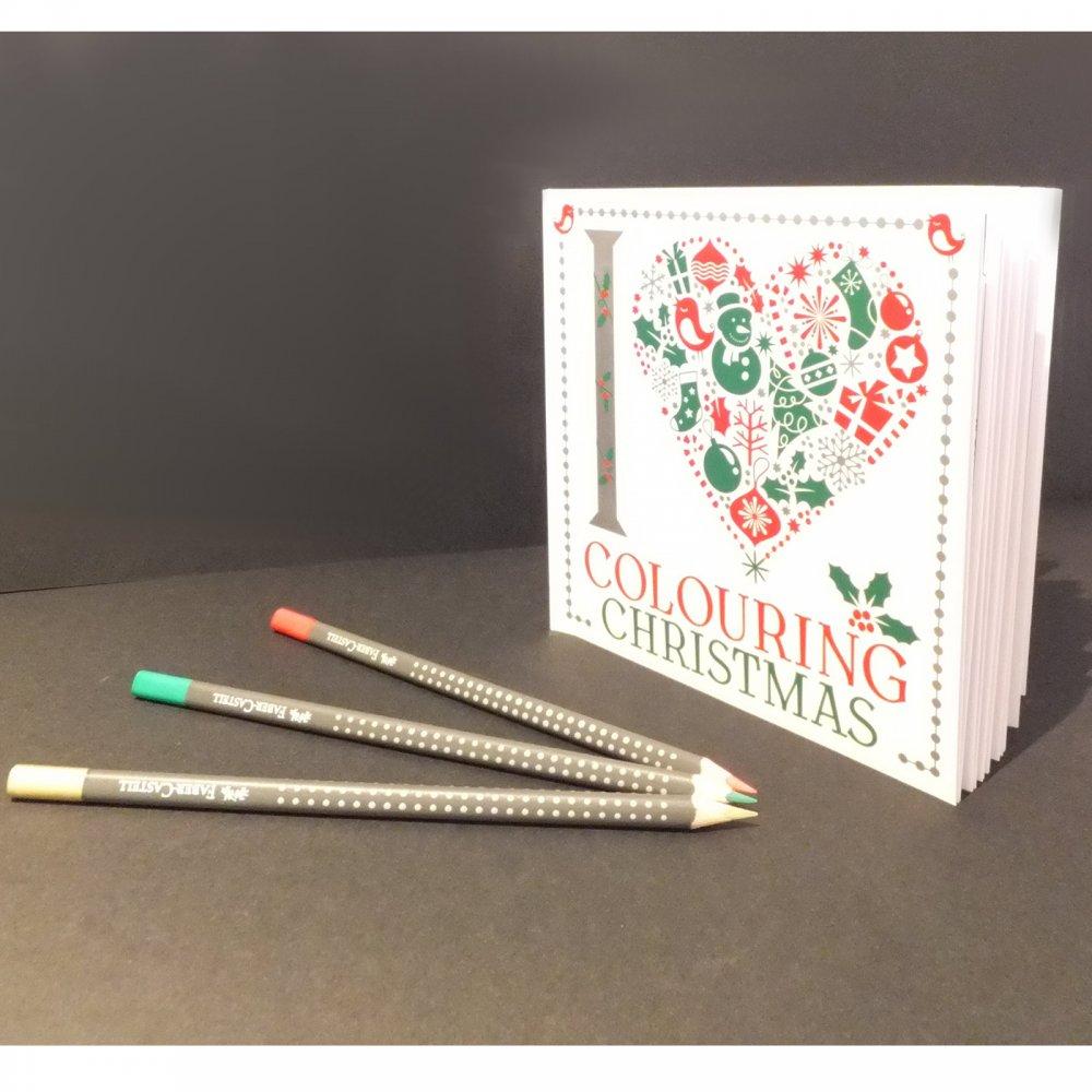Iheart Christmas.I Heart Colouring Christmas Book