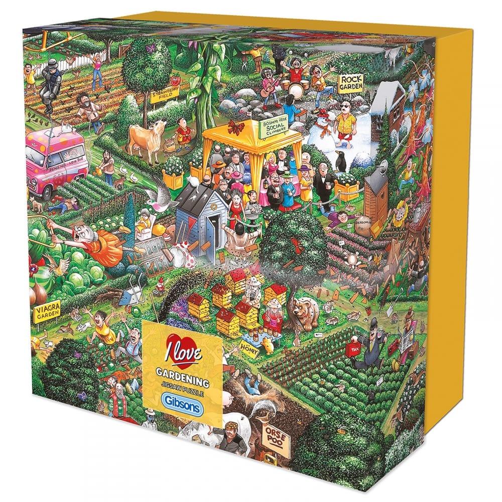 bc1f99dcec51 I Love Gardening - 500 Piece Puzzle - CraftyArts.co.uk