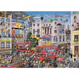I Love London - 1000 Piece Puzzle