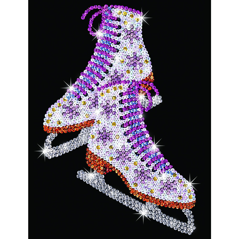 Ice Skates Sequin Art Ksg From Craftyarts Co Uk Uk