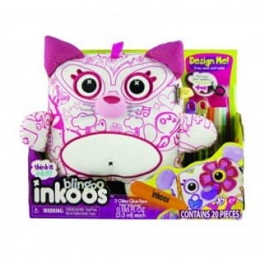 Inkoos Deluxe Blingoos Colour in Cat*