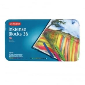 Inktense Blocks - 36 Tin