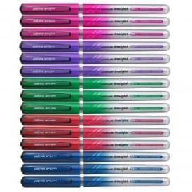Insight Rollerball Pens 15 Pack - Assorted Colours