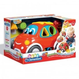 Interactive Shape Sorter Car