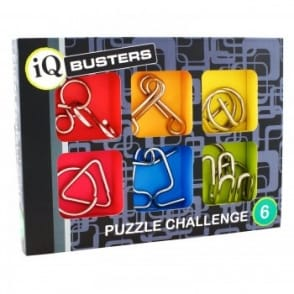 IQ Buster Metal Challenge Puzzle Set