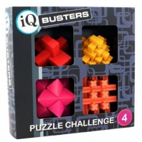 IQ Buster Wooden Challenge Puzzle Set