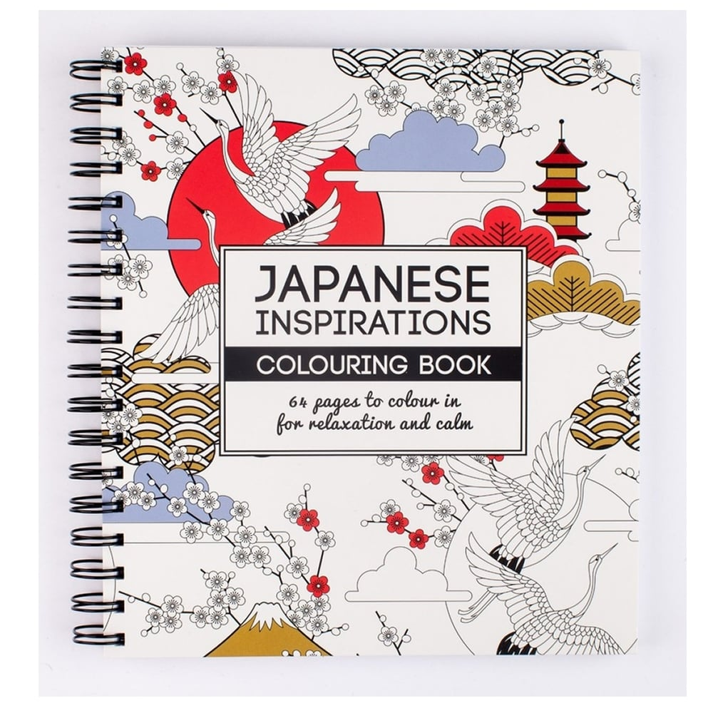 Japanese Inspirations Colouring Book Craftyarts Co Uk