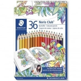 Johanna Basford Edition - 36 Noris Colouring Pencils Carton