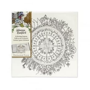Johanna Basford Pre-printed Canvas - Seasons 305mm x 305mm