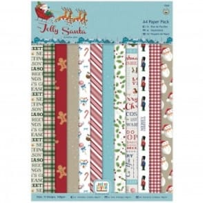 Jolly Santa A4 Paper Pack
