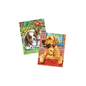 Junior by Numbers Twin Packs Labradors & Charles Spaniels
