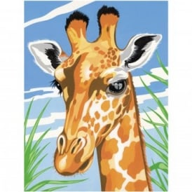Junior Paint by Numbers Giraffe
