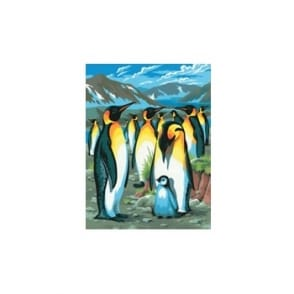 Junior Paint By Numbers Penguin