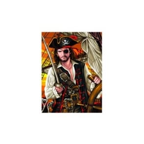 Junior Paint By Numbers Pirate